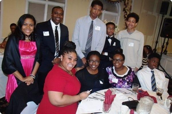 Participants at the Achievers Banquet