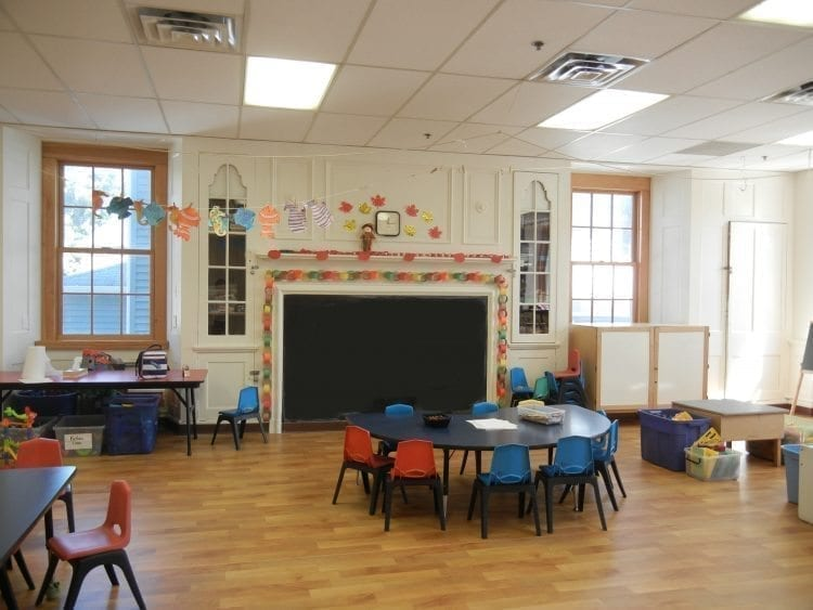 Infant Room at the kids club