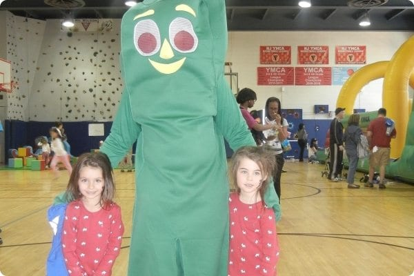 Children with Gumby