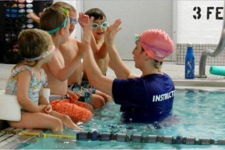 Swim Lesson Program Photo Image